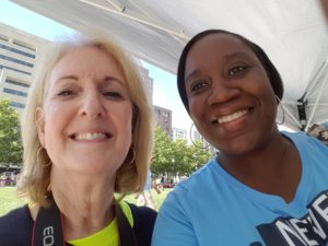 One of the Directorates of MCVET, Katherine O'Donovan and myself at the 21st Annual MCVET 5/10K.